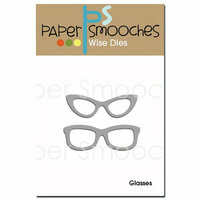 Paper Smooches - Dies - Glasses