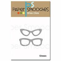 Paper Smooches - Dies - Glasses