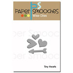 Paper Smooches Tiny Hearts Dies