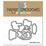 Paper Smooches - Dies - Bee Mine Icons