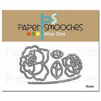 Paper Smooches Roses Dies