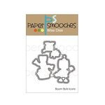 Paper Smooches - Dies - Boom Bots Icons