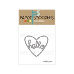 Paper Smooches - Dies - Hello Love