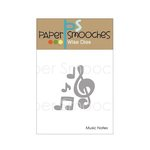 Paper Smooches - Dies - Music Notes