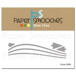 Paper Smooches - Dies - Snow Drifts