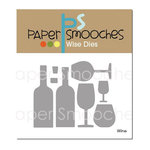 Paper Smooches - Dies - Wine