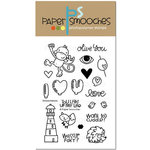 Paper Smooches - Clear Acrylic Stamps - Smoocheroos