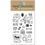 Paper Smooches - Clear Acrylic Stamps - Woofers and Tweeters