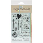 Paper Smooches - Clear Acrylic Stamps - Love-Struck