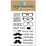 Paper Smooches - Clear Acrylic Stamps - Incognito