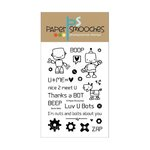 Paper Smooches - Clear Acrylic Stamps - Boom Bots