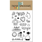 Paper Smooches - Clear Acrylic Stamps - Yummers