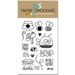 Paper Smooches - Clear Acrylic Stamps - Bee Mine