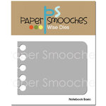 Paper Smooches - Dies - Notebook Basic