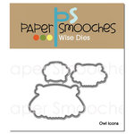 Paper Smooches - Dies - Owl Icons