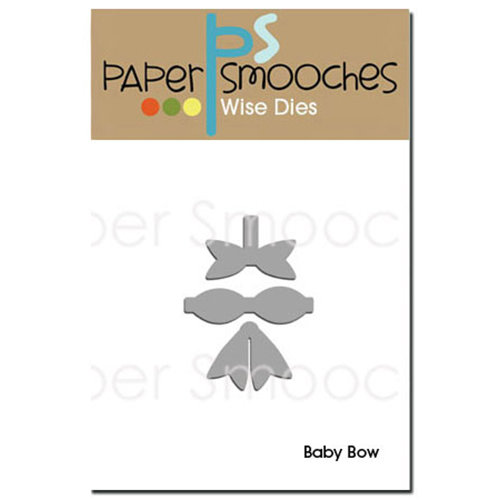 Paper Smooches - Dies - Baby Bow