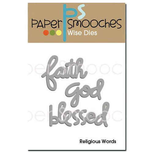 Paper Smooches - Dies - Religious Words