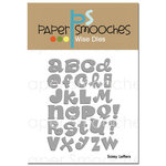 Paper Smooches - Dies - Sassy Letters