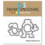 Paper Smooches - Dies - Magical Spring Icons