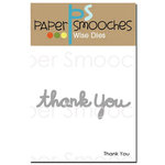 Paper Smooches - Dies - Thank You