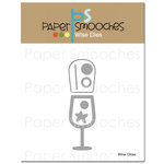 Paper Smooches - Dies - Wine Glass