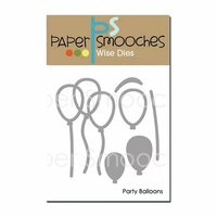 Paper Smooches Party Balloons Dies