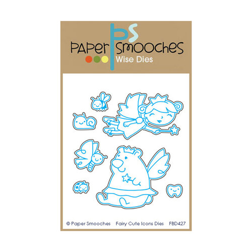 Paper Smooches - Dies - Fairy Cute Icons