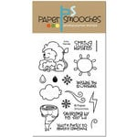 Paper Smooches - Clear Acrylic Stamps - Eco Friendly
