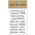 Paper Smooches - Clear Acrylic Stamps - Good Gab