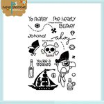 Paper Smooches - Clear Acrylic Stamps - Ahoy Me Hearty