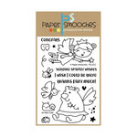 Paper Smooches - Clear Acrylic Stamps - So Fairy Cute