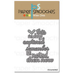 Paper Smooches Documented Dies
