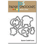Paper Smooches - Dies - Space Cadet Icons