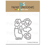 Paper Smooches - Dies - Courteous Cuties Icons