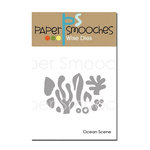 Paper Smooches - Dies - Ocean Scene