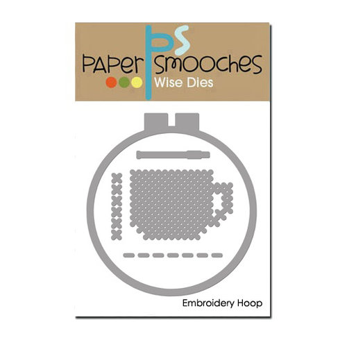 Paper Smooches - Dies - Embroidery Hoop