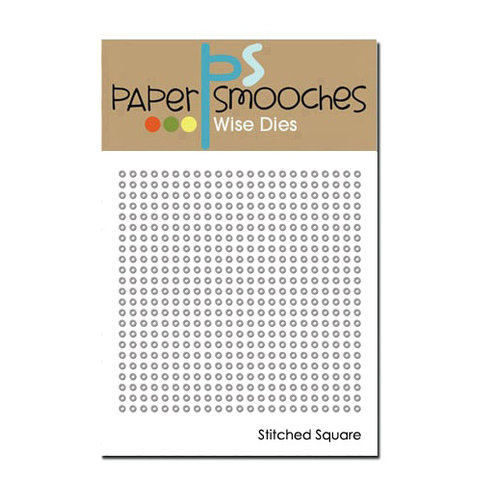 Paper Smooches - Dies - Stitched Square