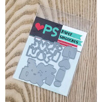 Paper Smooches - Dies - I Heart You