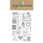 Paper Smooches - Clear Acrylic Stamps - Needle Little Love
