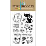 Paper Smooches - Clear Acrylic Stamps - Nine Lives