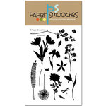 Paper Smooches - Clear Acrylic Stamps - Botanicals 1