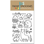 Paper Smooches - Clear Acrylic Stamps - Courteous Cuties