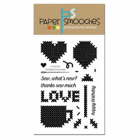 Paper Smooches - Clear Acrylic Stamps - In Stitches