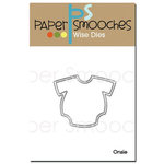 Paper Smooches - Dies - Onesie