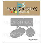 Paper Smooches - Dies - Word Bubbles
