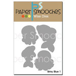 Paper Smooches - Dies - Briny Blue 1