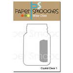 Paper Smooches - Dies - Crystal Clear 1