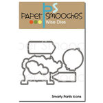 Paper Smooches - Dies - Smarty Pants Icons