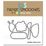 Paper Smooches Healthy Vibes Icons Dies