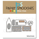 Paper Smooches - Dies - School Icons